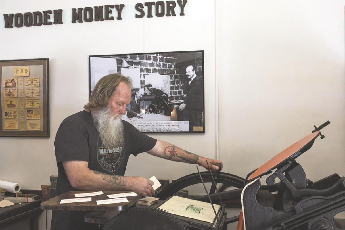 Tenino On Tv Travel Channel Series To Feature Wooden Money This