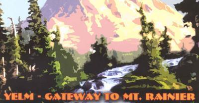 Mount Rainier Mural