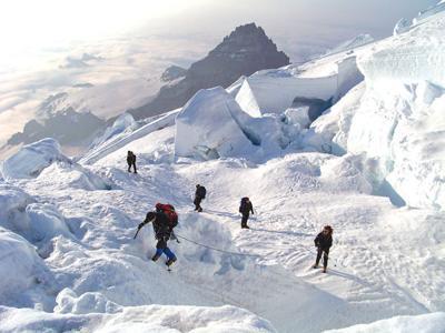 Near Emmons Glacier