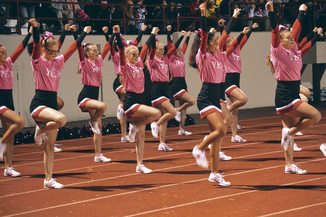 Youth Cheerleaders Showcase Skills Local Sports