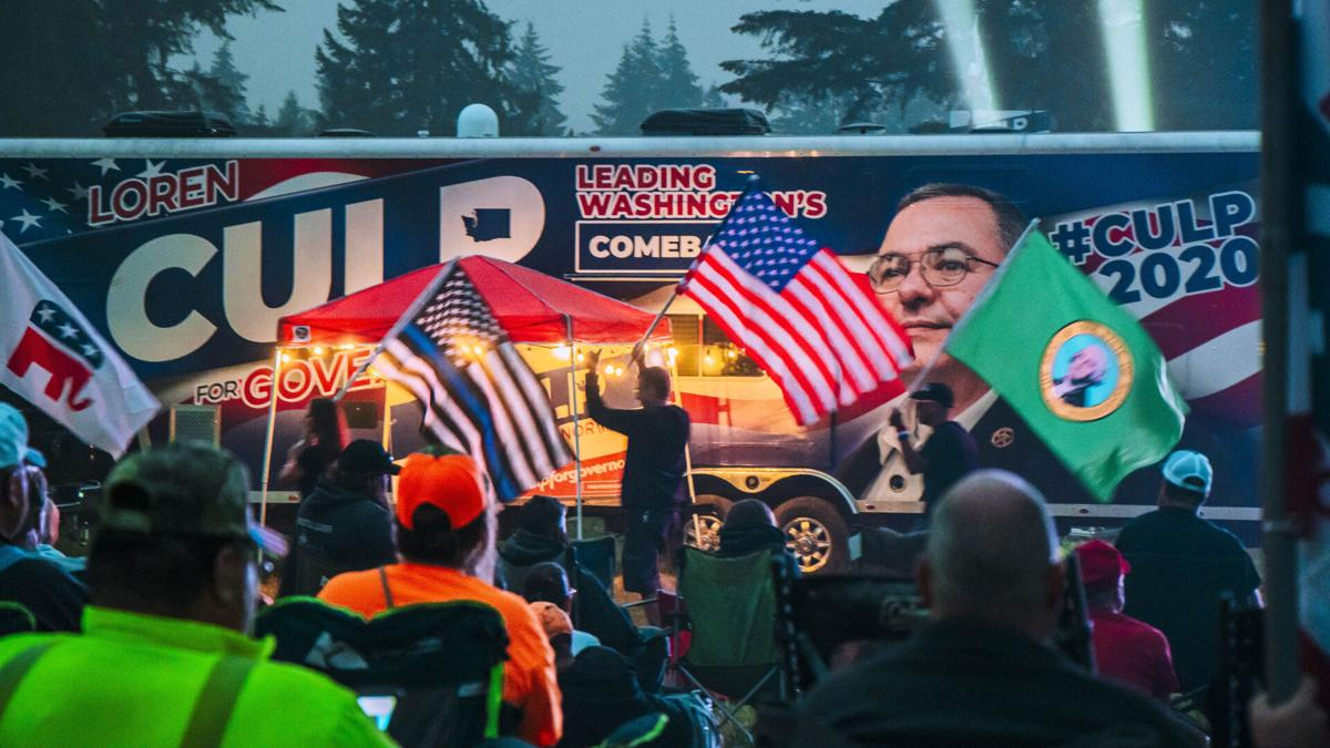 Yelm Victory Protest