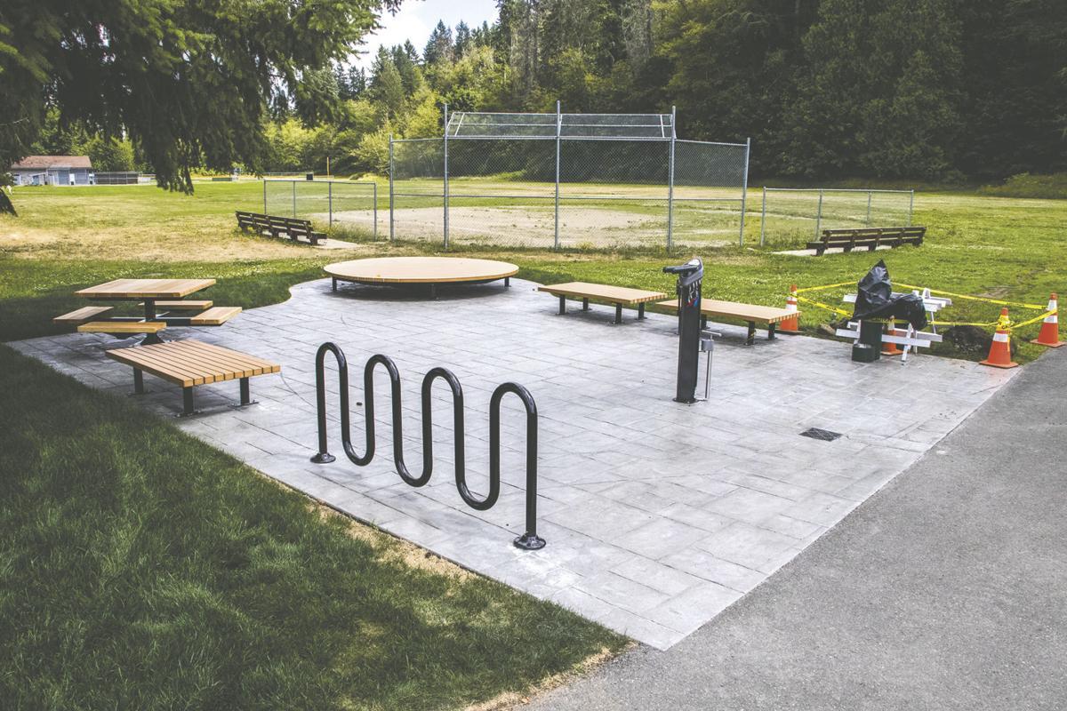 New Tenino City Park Installation