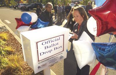 Ballot Box Installed at Nisqually Tribe