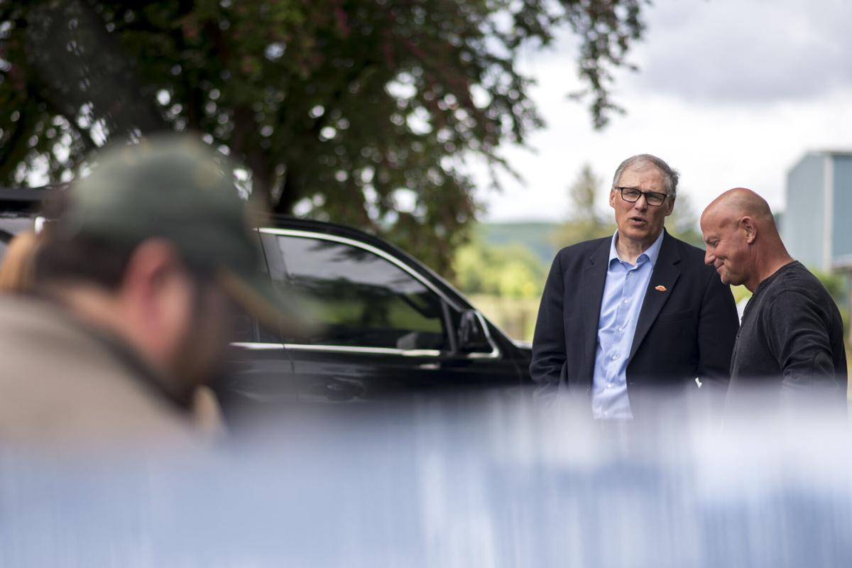 Inslee Visits Lewis County