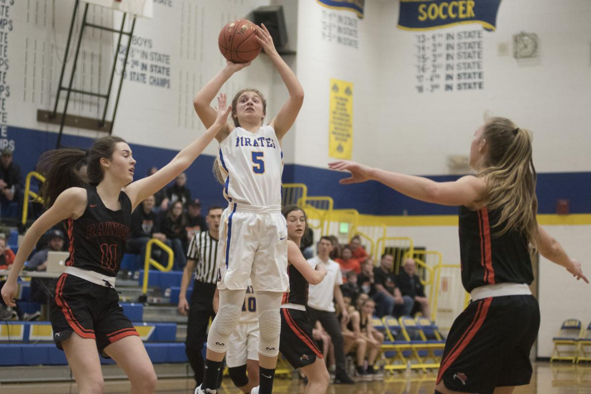 Rainier at Adna girls basketball Jan. 16, 2020