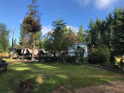 Man, 58, Dies in Rainier Mobile Home Fire