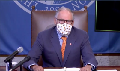 Inslee: All Washington Businesses Must Turn Away Customers Not Wearing Masks
