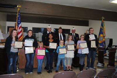 Vfw Patriotic Essay Winners Recognized   Yelmonlinecom Vfw Essay Contest