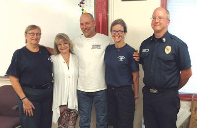 Bald Hills Fire District 17 Personnel