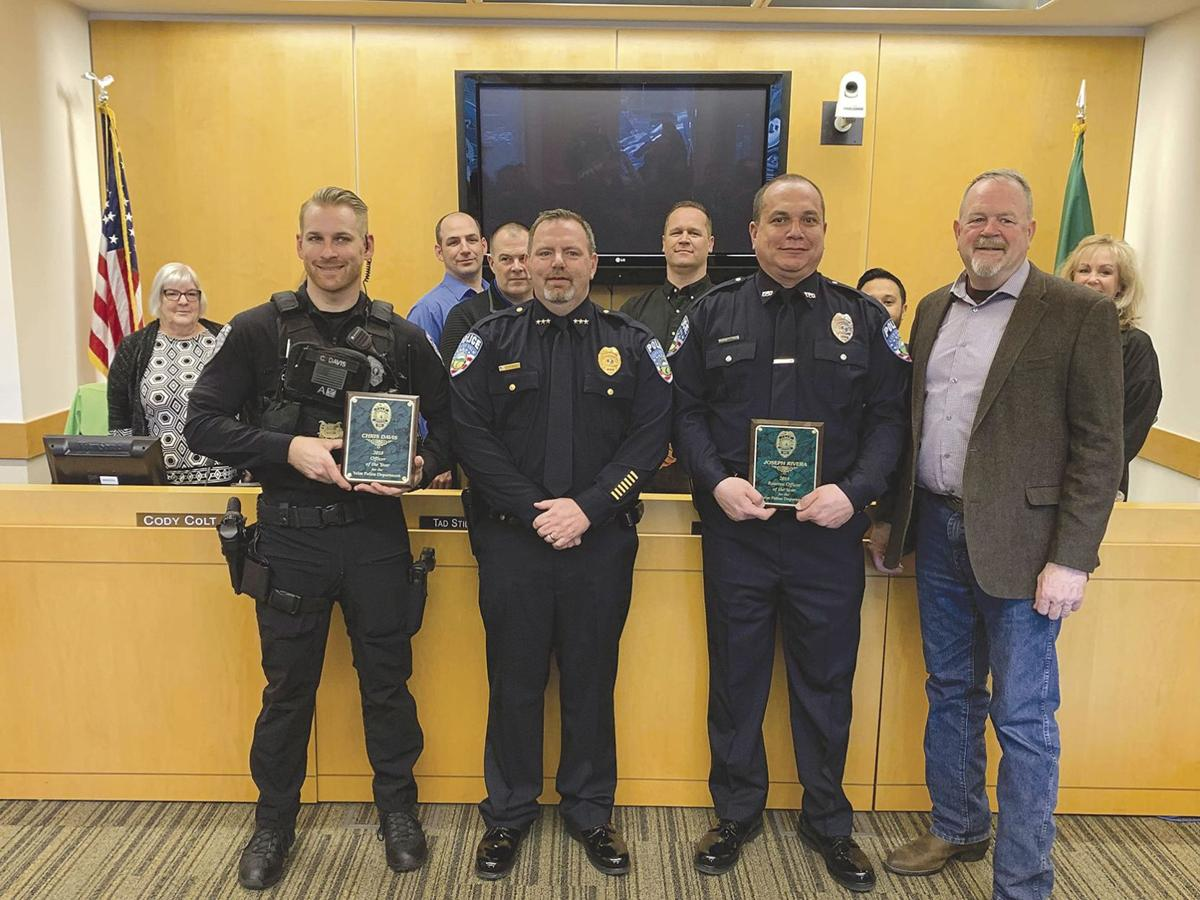 Officer and Reserve Officer of the Year Awards