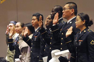 Joint Base Lewis McChord hosts naturalization ceremony