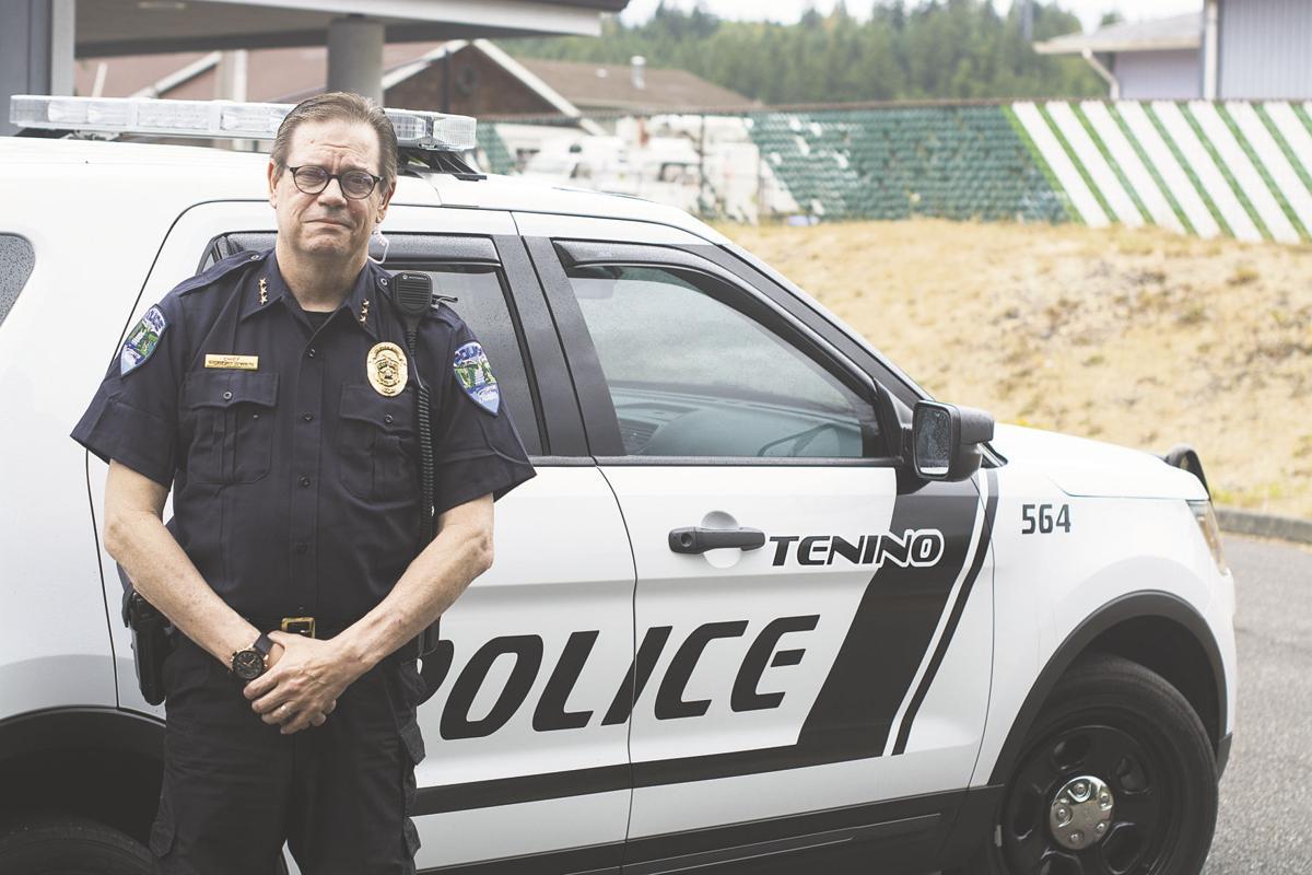 Tenino Police Chief Robert Swain