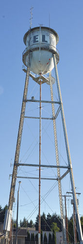 The Yelm Water Tower