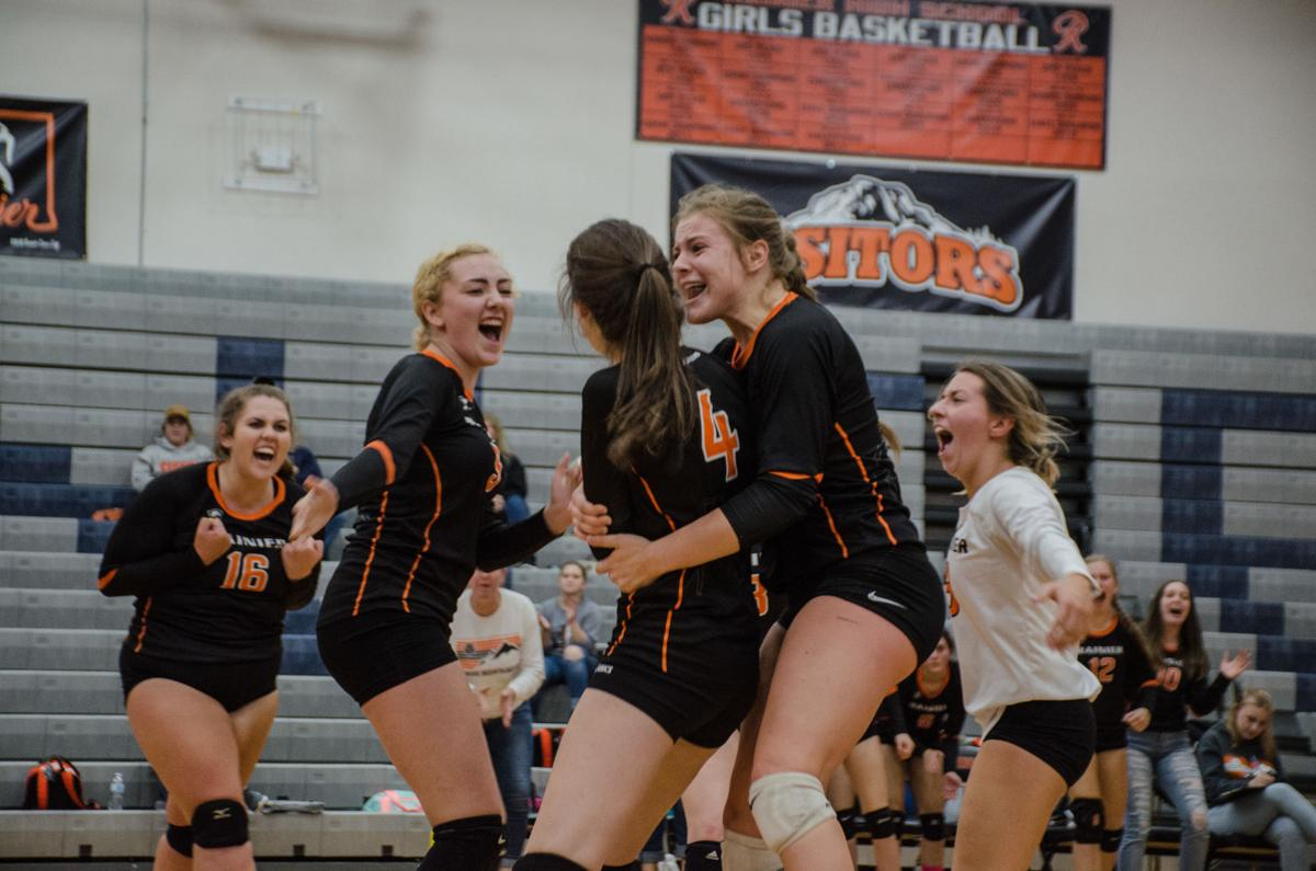 Prep Volleyball: Rainier Mountaineers Look for Their Moment in the Central 2B