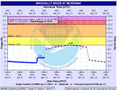 Nisqually River at McKenna