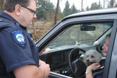 Yelm Police Pass Out Cash