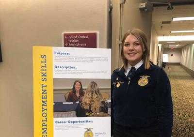 Yelm's Abbie Dorhauer Wins First Place in National FFA Competition