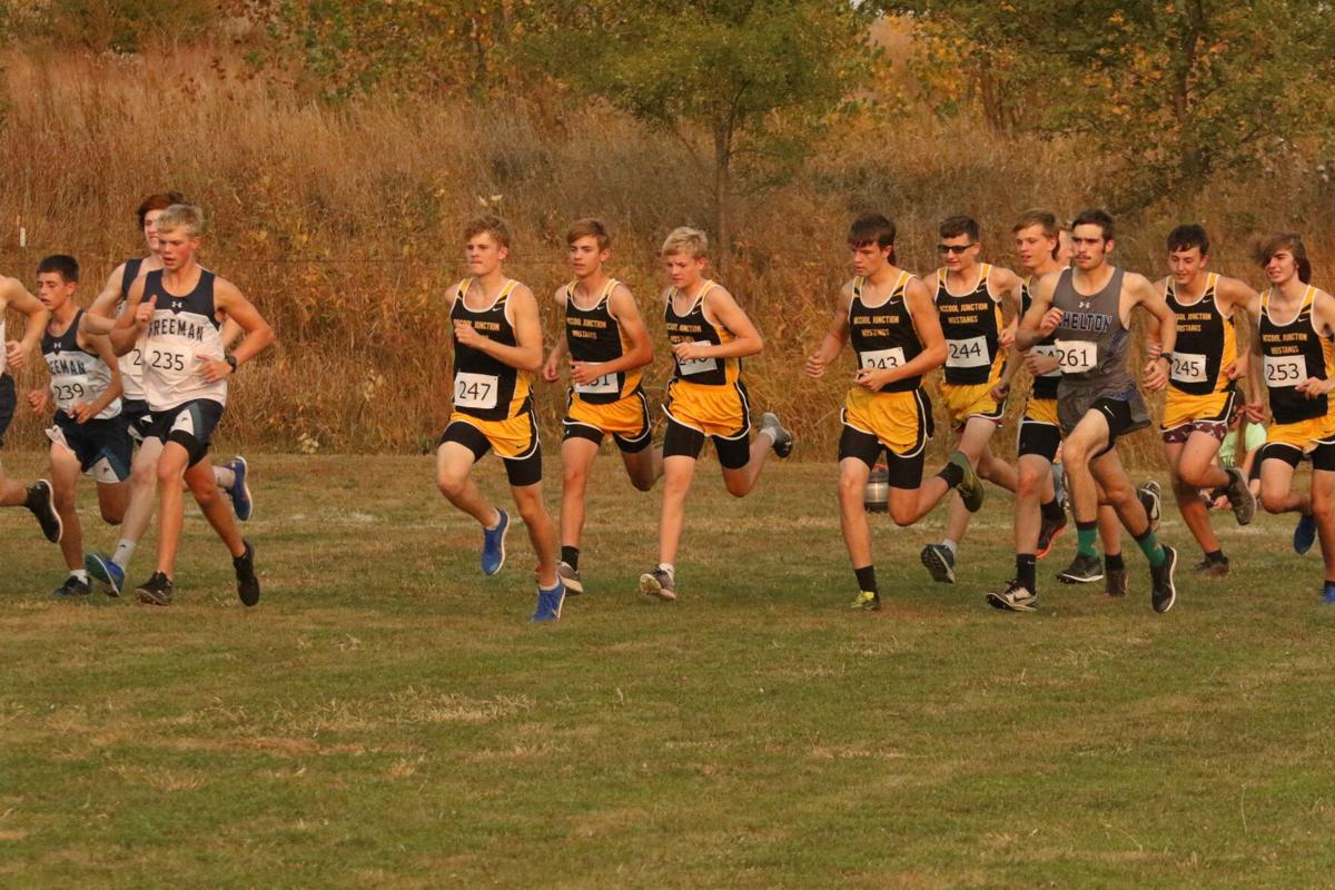 McCool Junction boys Cross Country