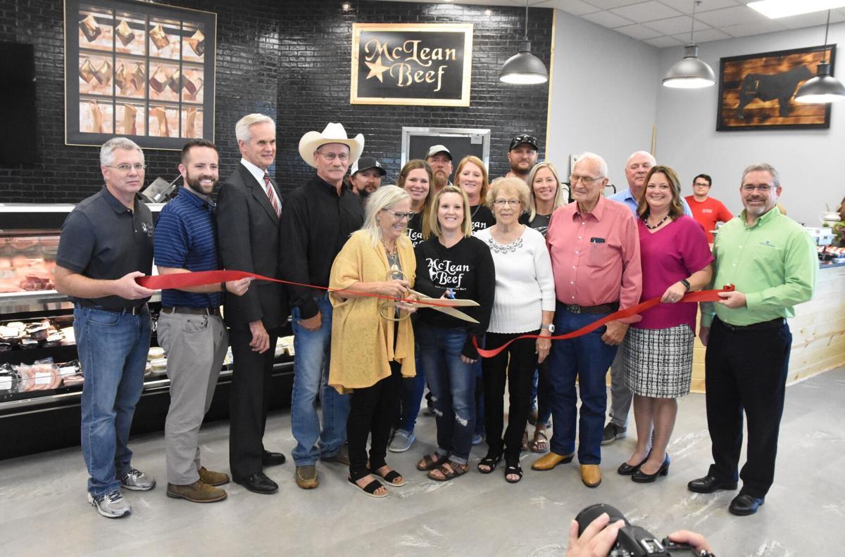 McLean Beef grand opening