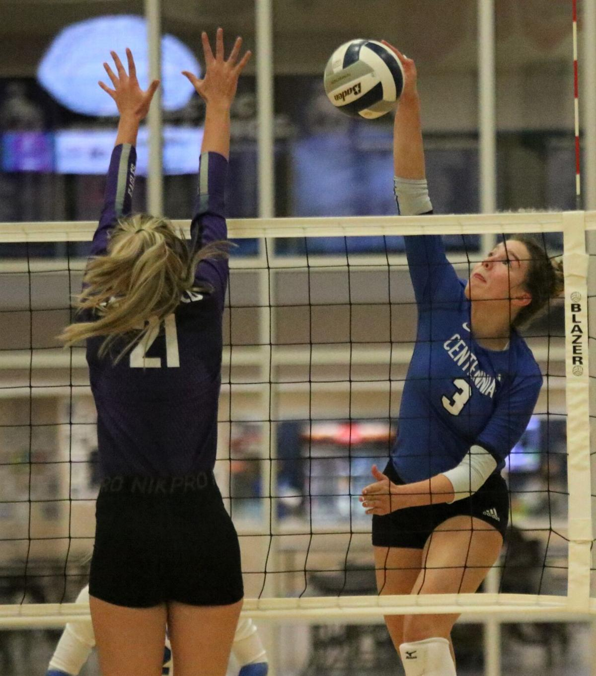 Hirschfeld's 427 kills led Broncs in volleyball