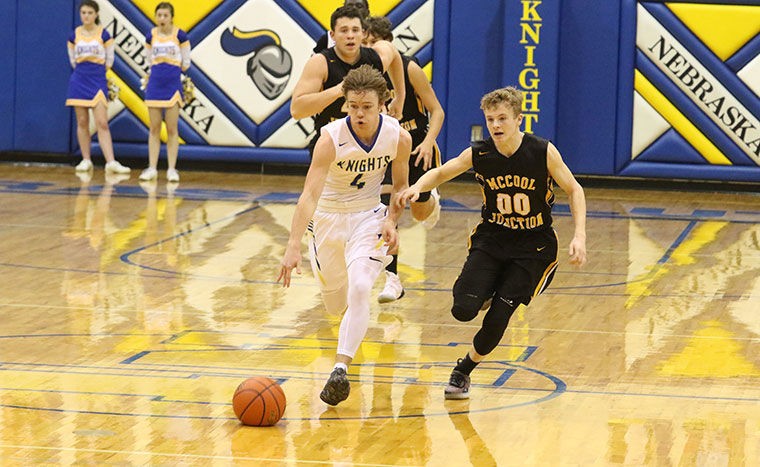 knights defend home floor with win over mccool junction