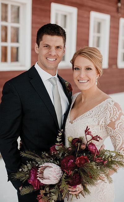 Dustin and Lauren Jazwick