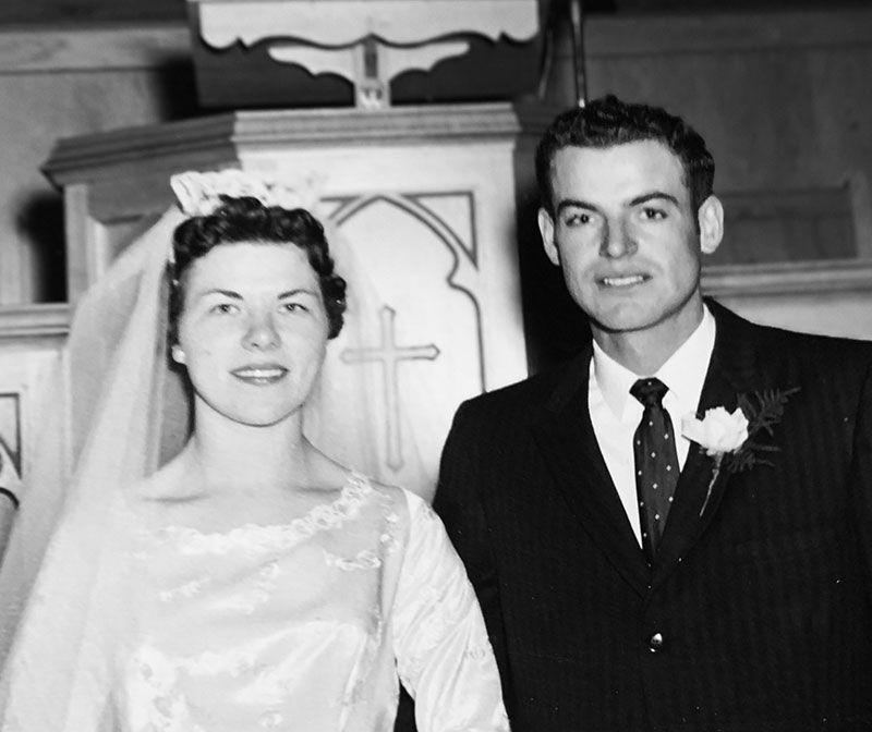 Elroy & Carrie Bergen, 1959