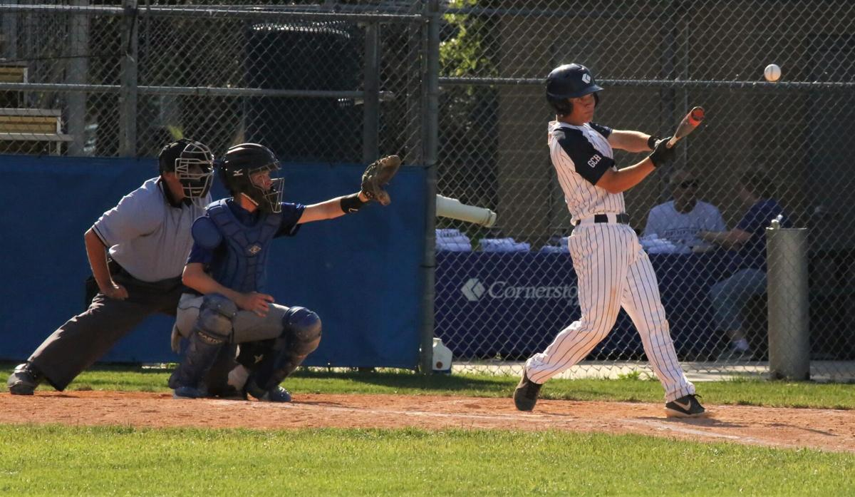 Marshall McCarthy doubles to the corner