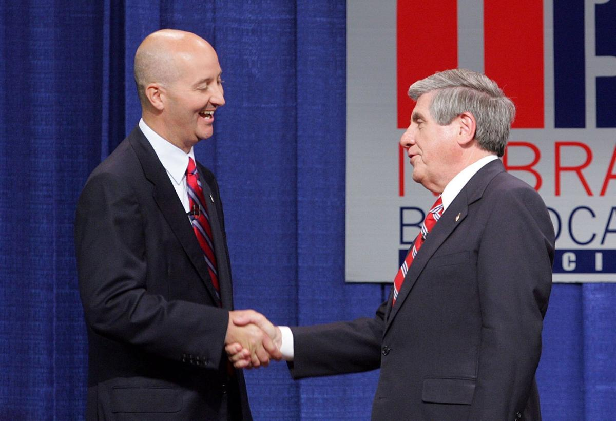 Pete Ricketts and Ben Nelson