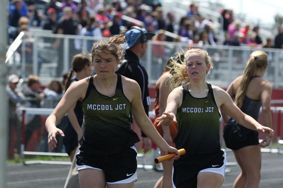 eight mccool junction mustangs qualify for state track