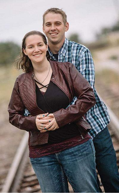 Carrie Kimbrough and Stuart Remmers