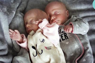 Sophia Anne and Willow Rose Miller