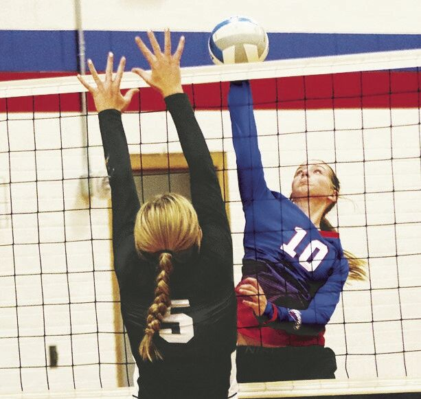 Courtney Carlstrom and the Storm fall to Exeter-Milligan