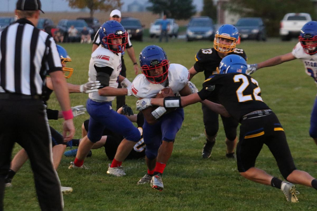 Javier Moreno, High Plains football