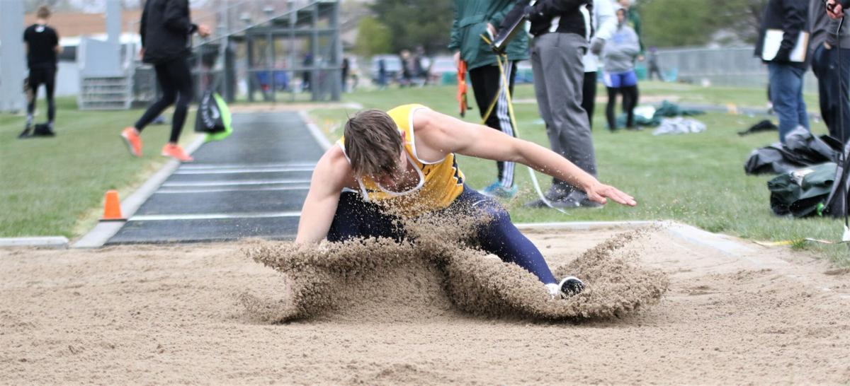 Johnny soared to second in Central City long jump