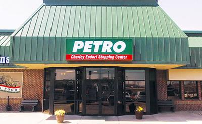 York Petro signs featuring Charley Endorf's name