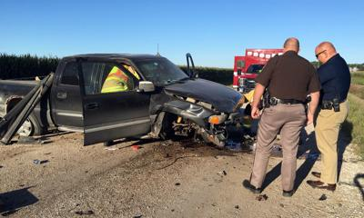 One injured in accident Friday morning