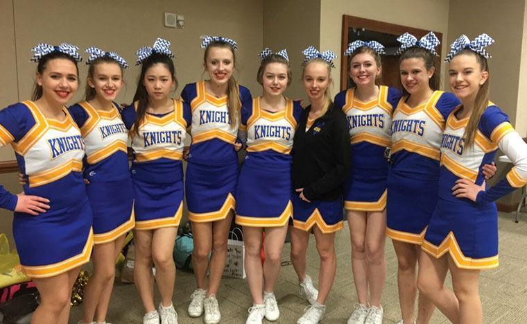 2016-2017 Nebraska Lutheran High School Cheer Team