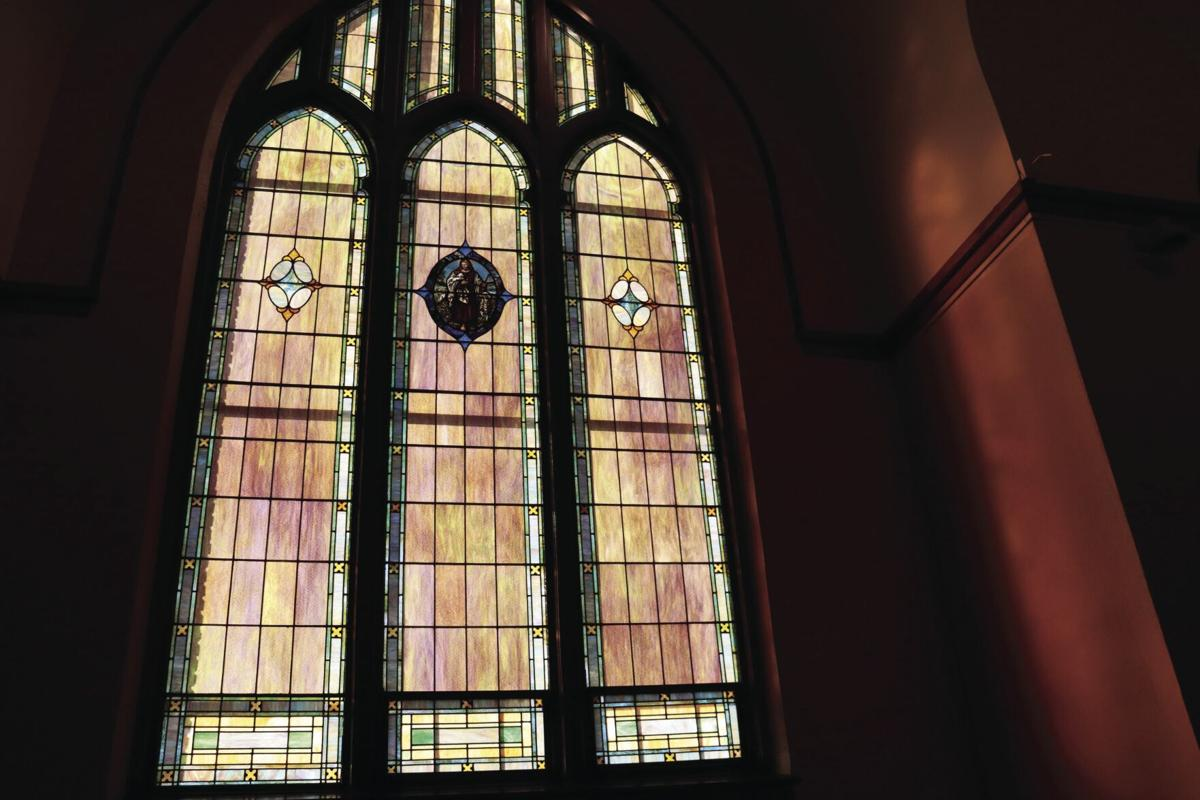 Big Stained glass