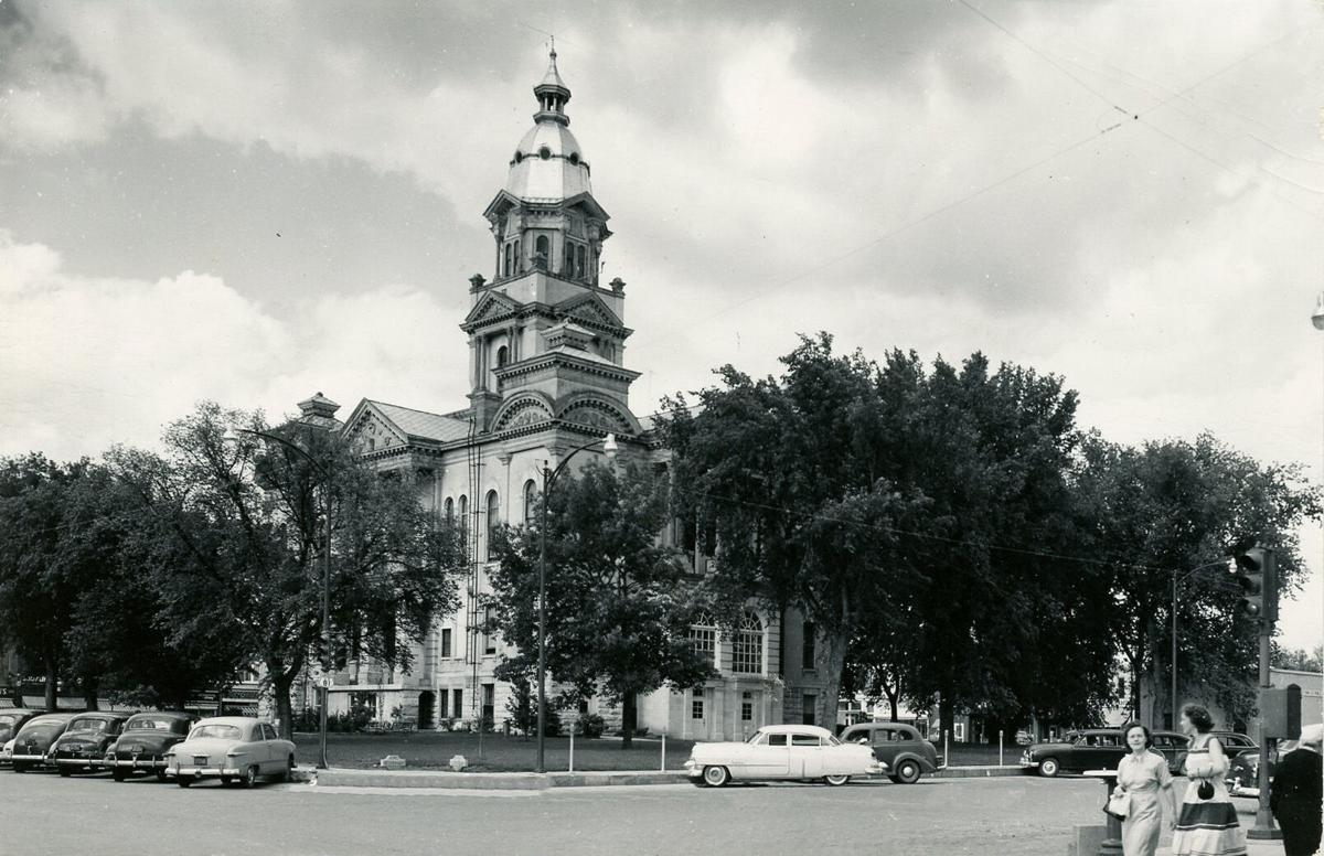 View of the courthouse