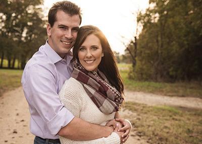 Amy Powell and Jonathan Kocks