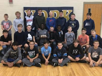 eighth grade football team