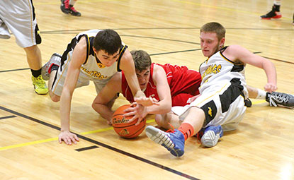 mccool junction falls in ot to heartland lutheran sports