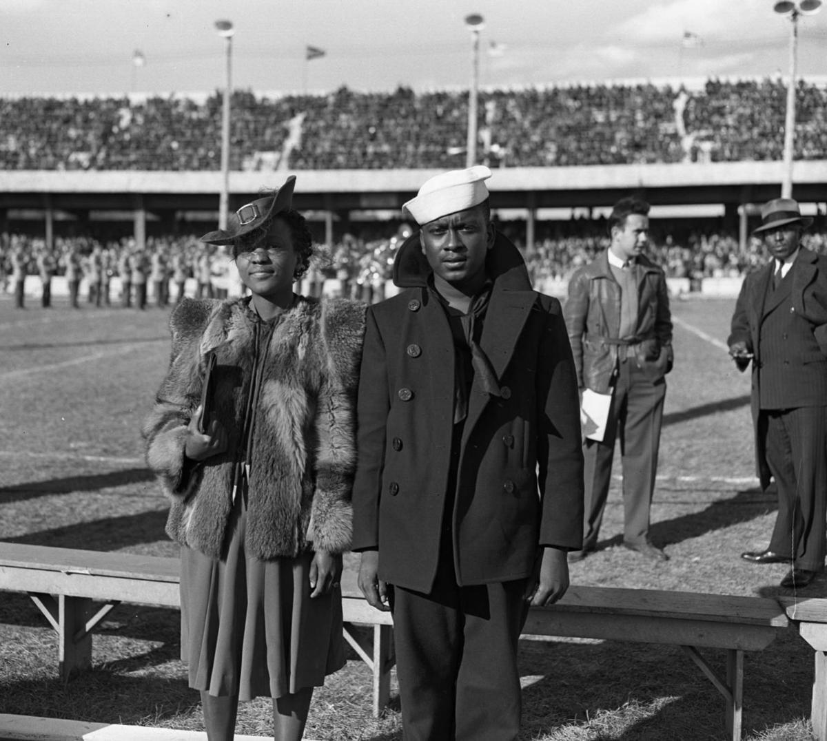 Charles Jackson French and sis Viola2 at Creighton game