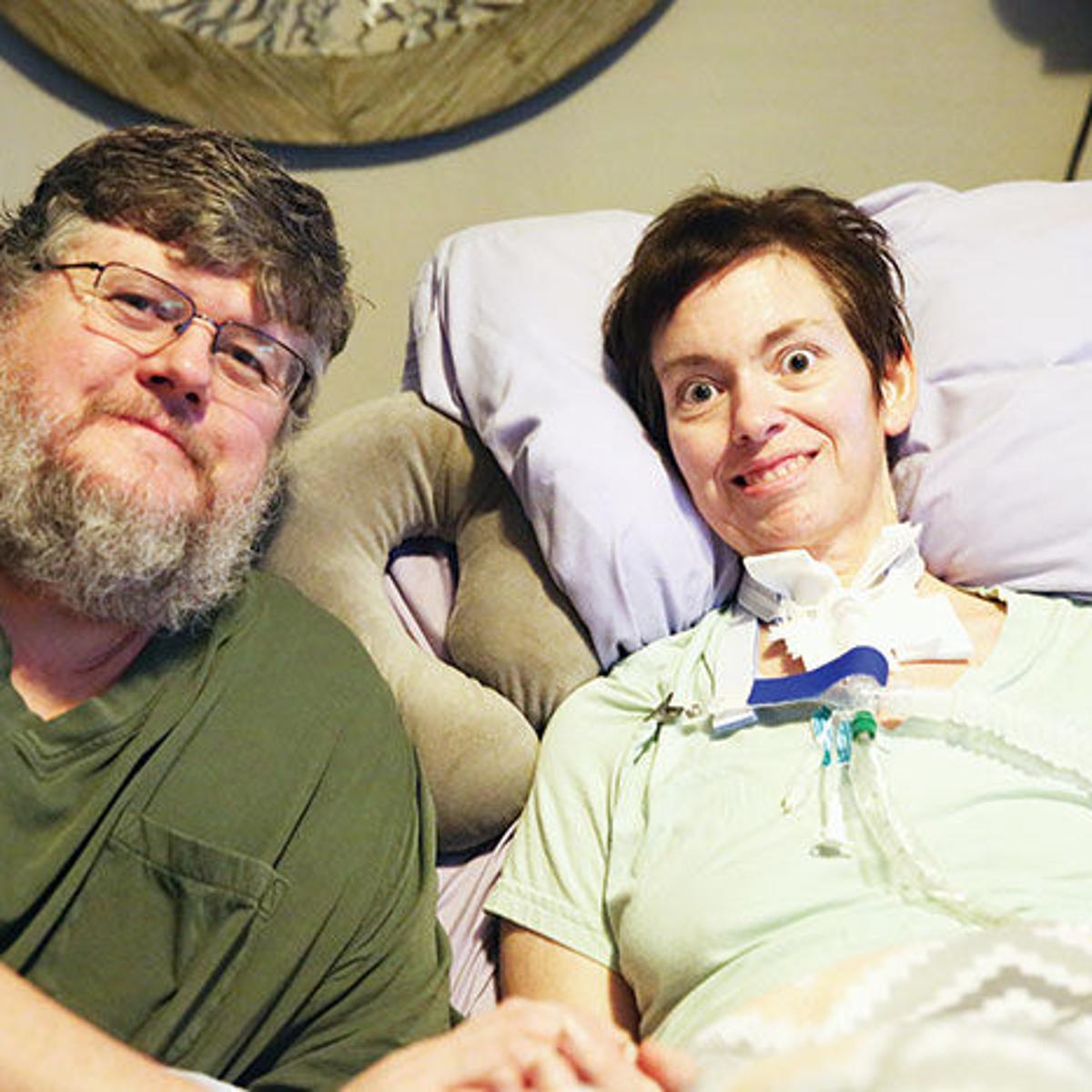 ALS patient overcomes communication challenges | Latest Headlines