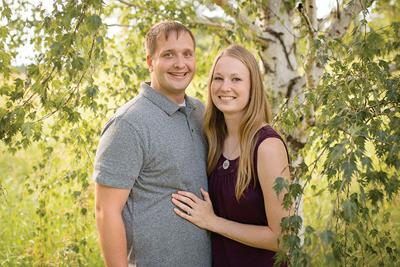 Kayla Karlson and Travis Arnold