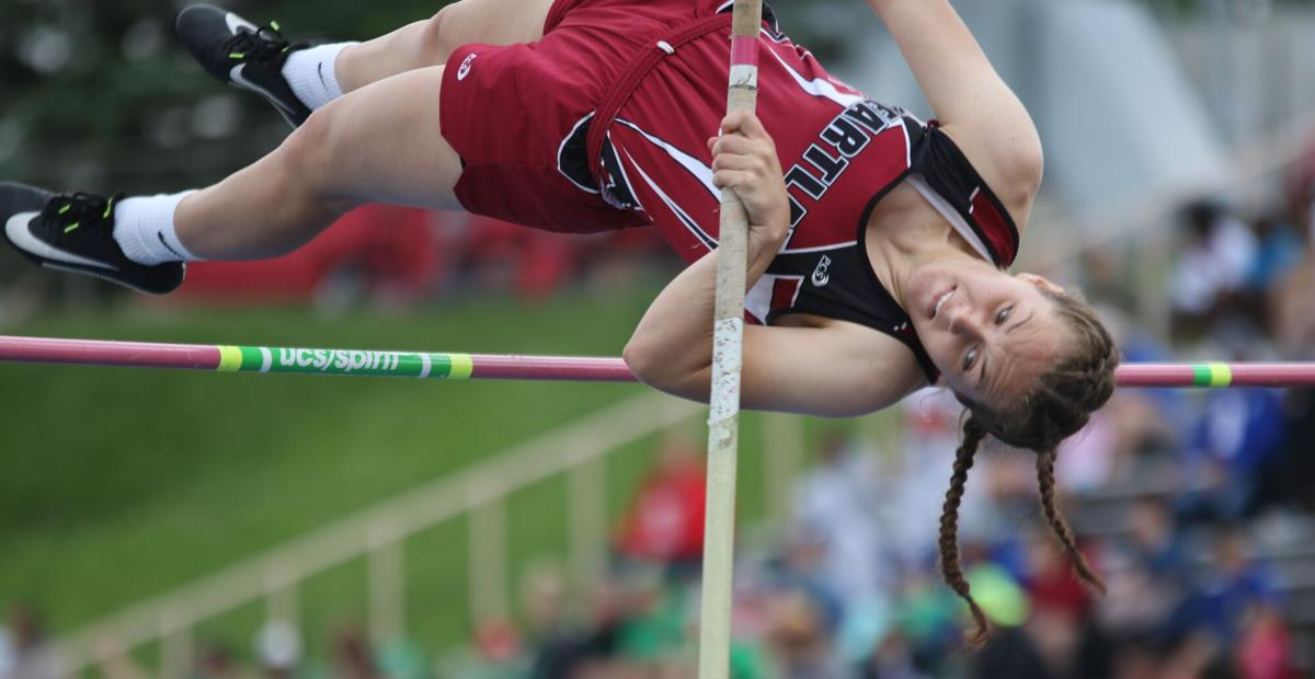 Tessman of Heartland vaults into top-10 at state track and field