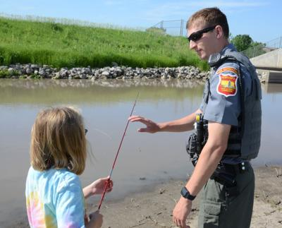 Conservation Officer Kyle Gaston advocates for the outdoors at Recharge