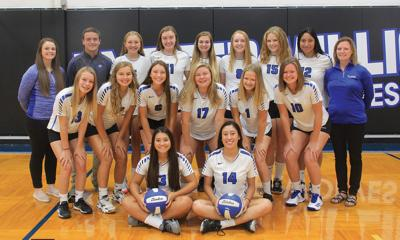 Exeter-Milligan volleyball 2019