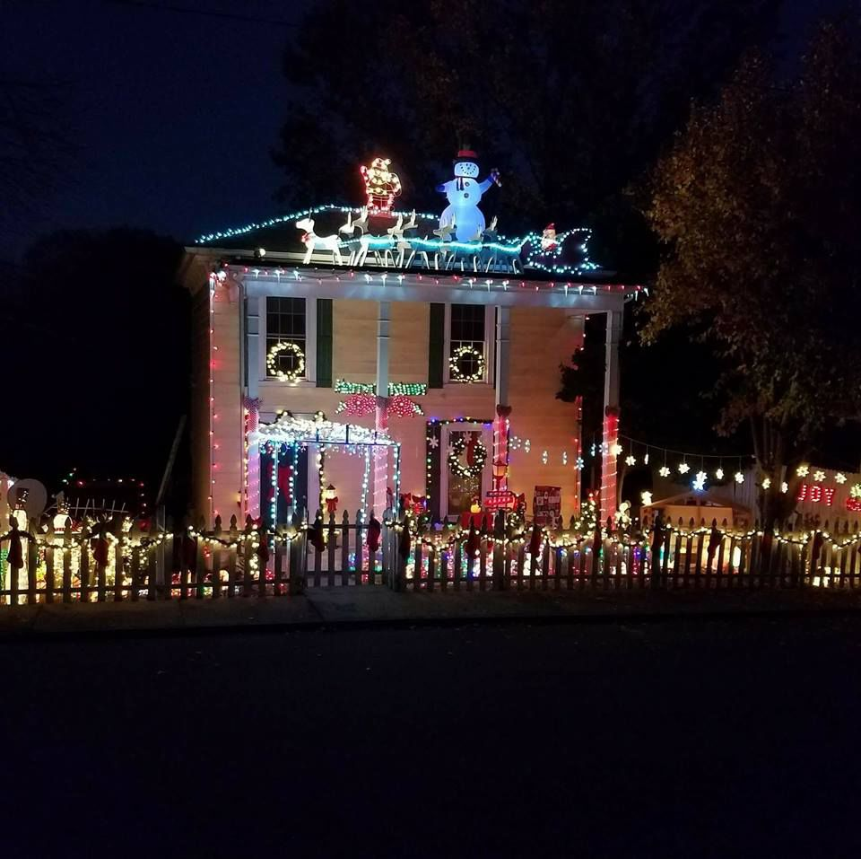 ... Boston firefighter Michael Bowen's house on Traver Avenue near South Boston Post Office and enjoy these Christmas decorations from 6-11 p.m. Saturday.